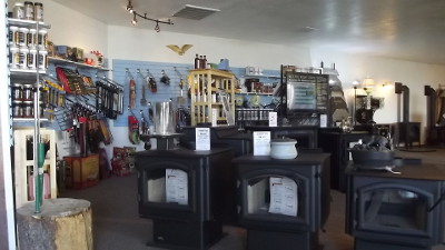 Silver Bow Hearth & Home Showroom in Butte, Montana